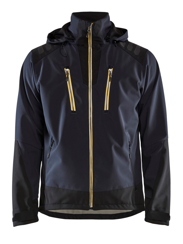 Blaklader 4749 Hooded Softshell Jacket