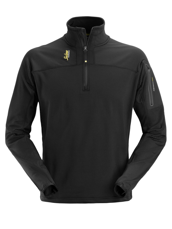 Snickers 9435 1/4 Zip Micro Mapping Fleece Pullover