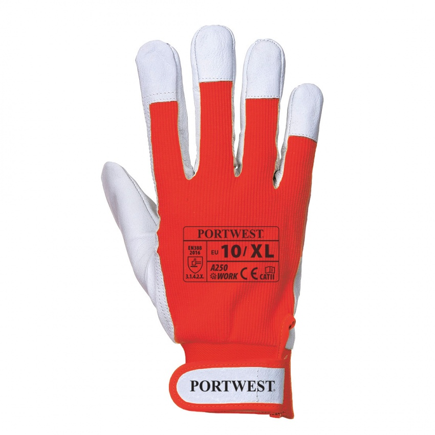 Portwest A250 Tergsus Glove - Red (XL)