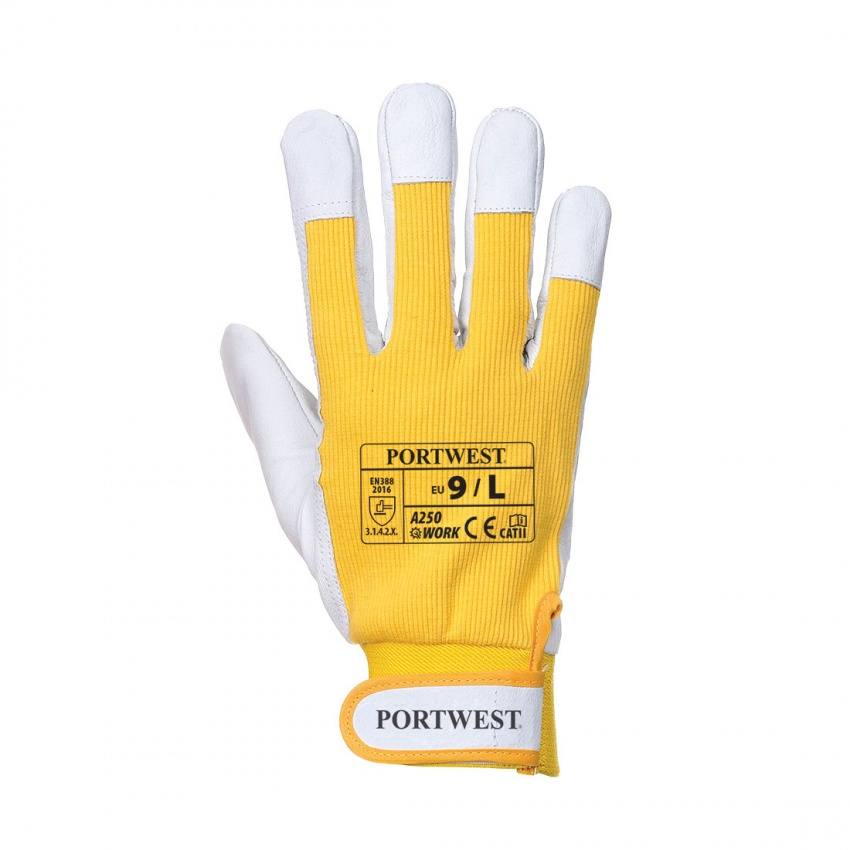 Portwest A250 Tergsus Glove - Yellow (L)