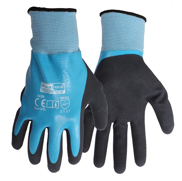 Blackrock 54309 watertight grip gloves