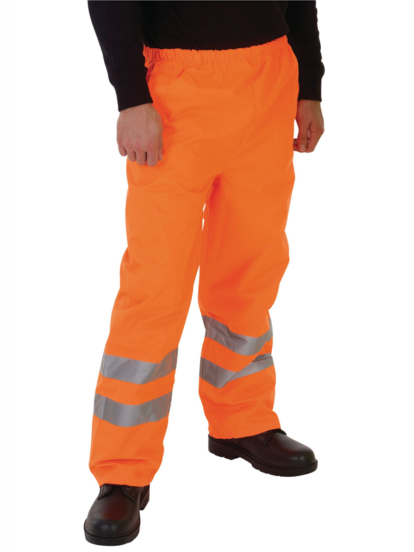 HVS462 Hi Viz Waterproof Over Trouser