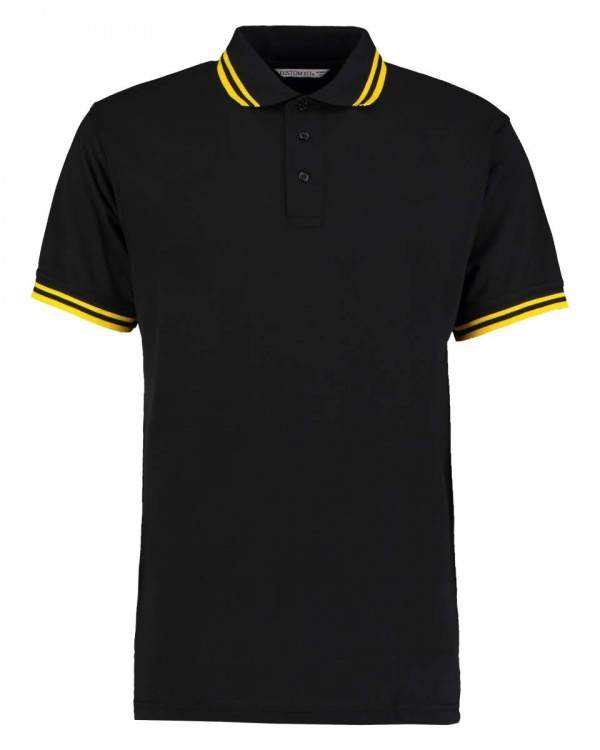 409 Men's Tipped Pique Polo