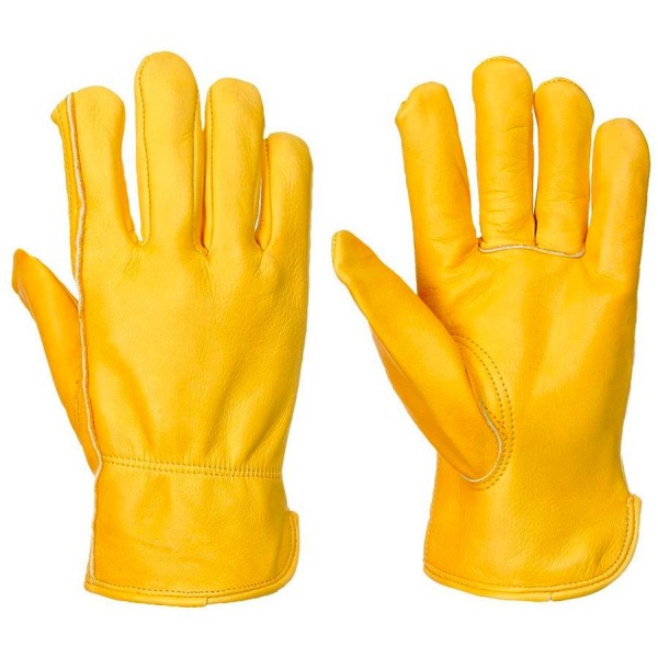 A271 Portwest lined leather drivers gloves