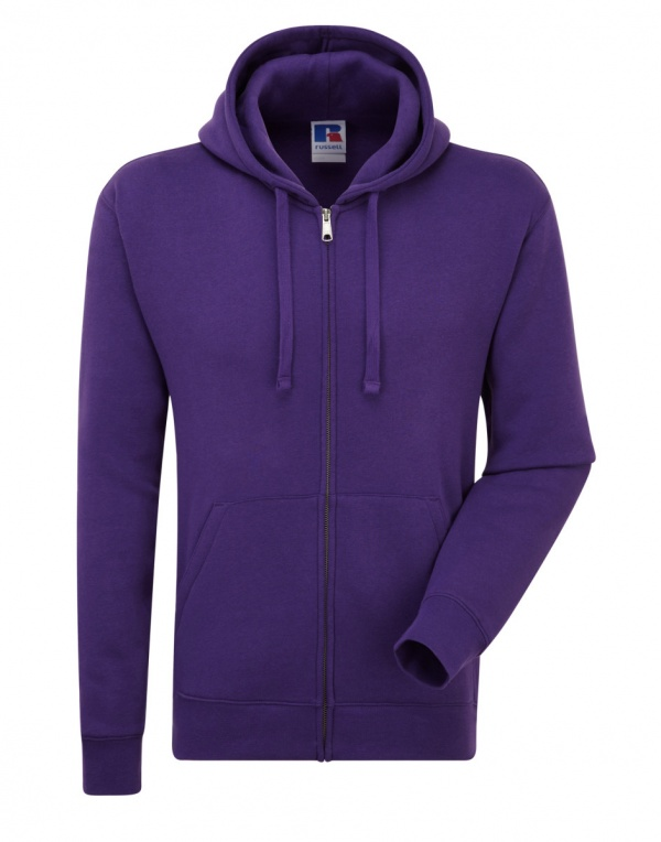 266 Russell Mens Authentic Zipped Hood