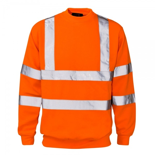 Hi Vis Sweatshirt - Orange