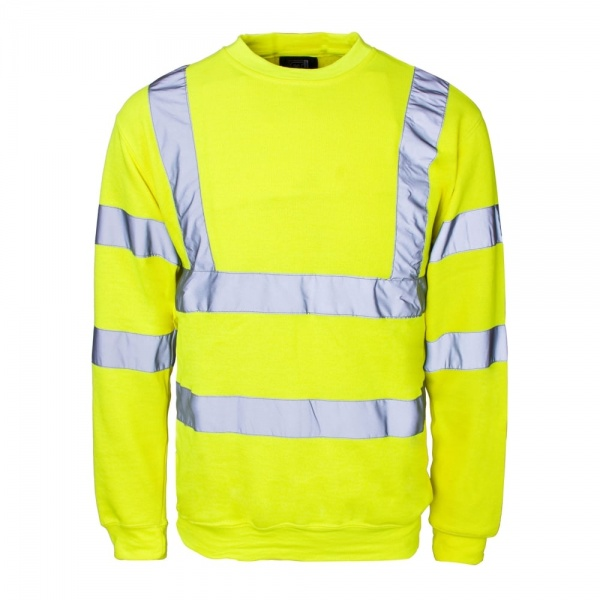 Hi Vis Sweatshirt - Yellow