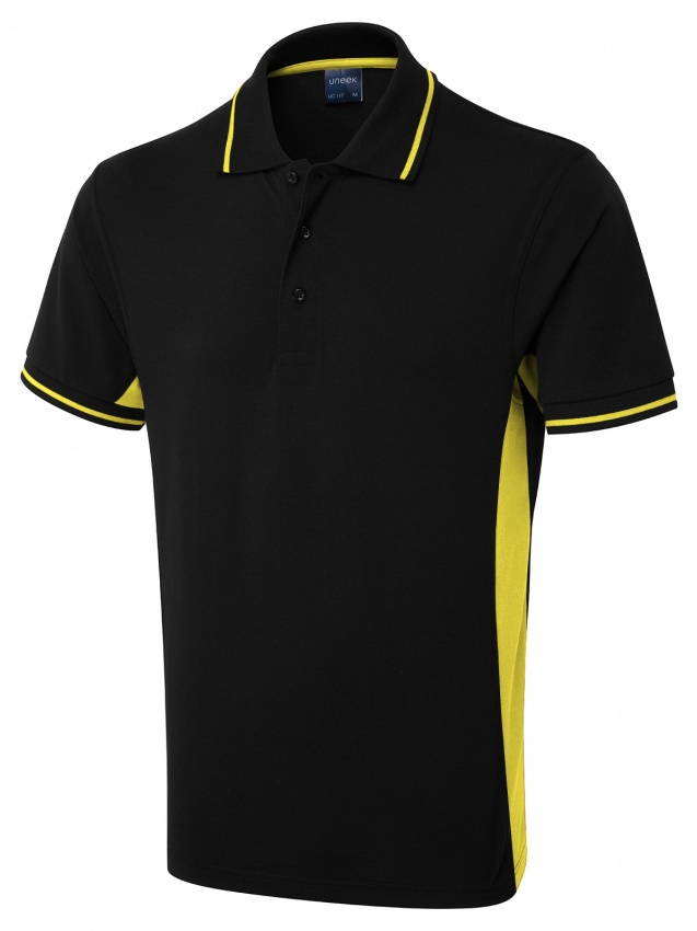 117 Two Tone Polo Shirt