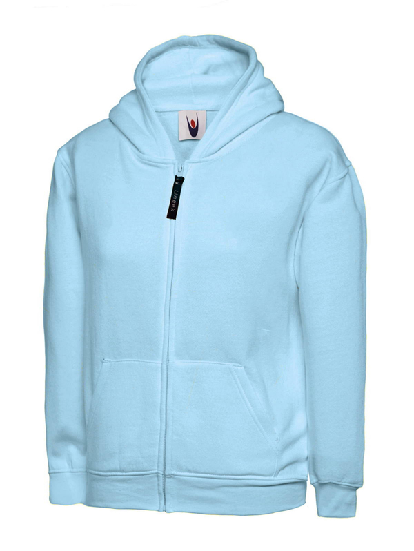 506 Childrens Classic Full Zip Hooded Sweatshirt