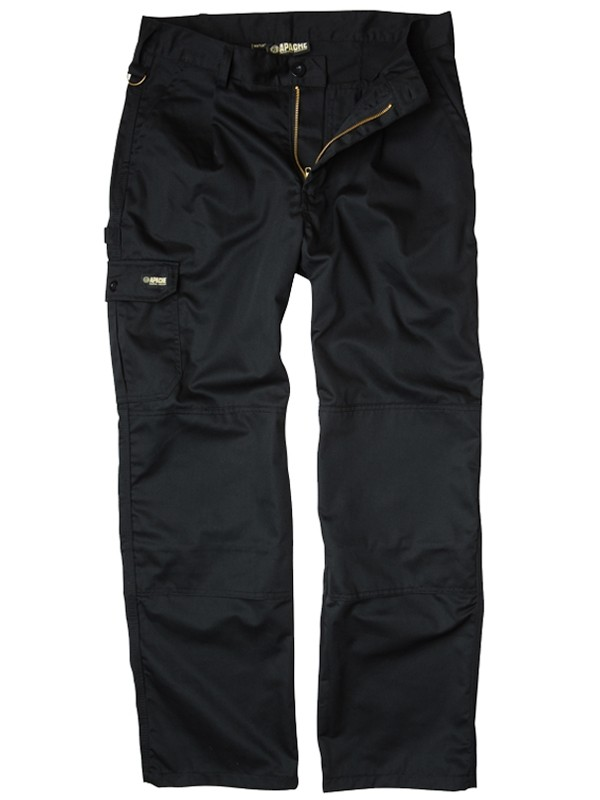 Apache Industry Cargo Trouser - Black
