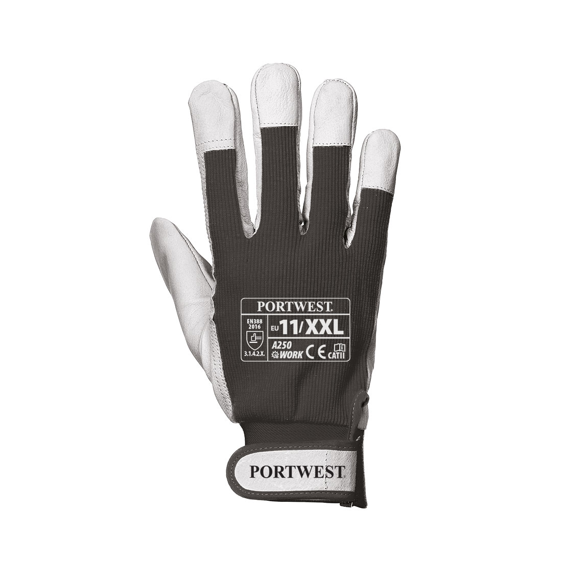 Portwest A250 Tergsus Glove - Black (XXL)