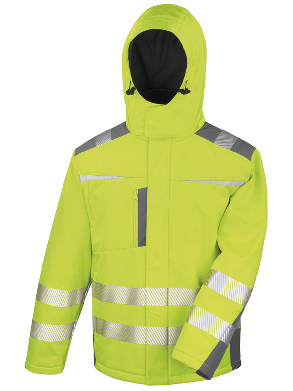 Result R331 dynamic hi vis  softshell jacket