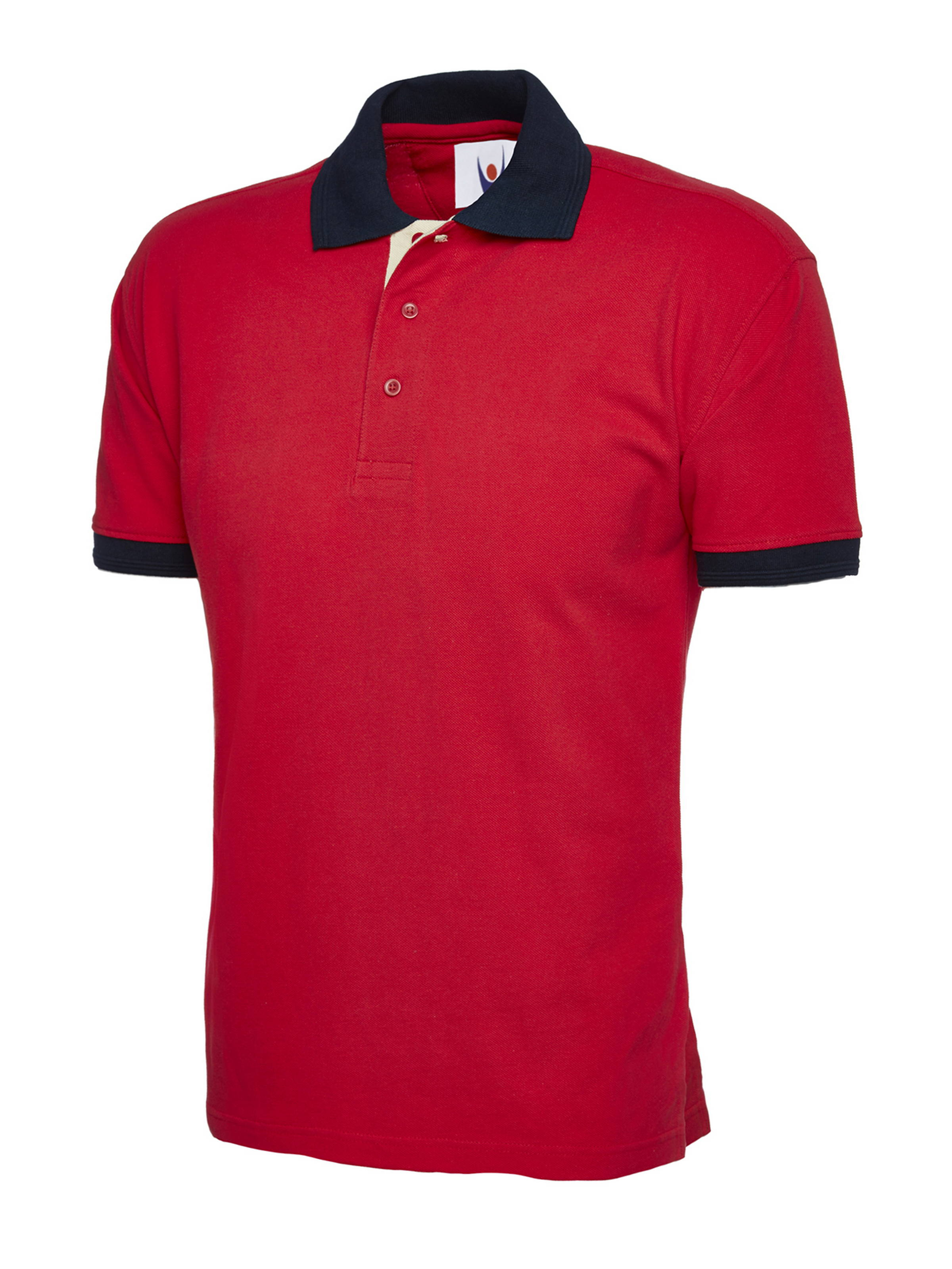 107 Contrast Polo Shirt