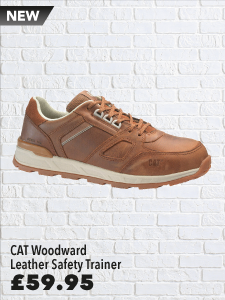 Caterpillar Woodward Leather Safety Trainer