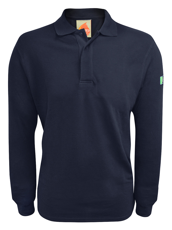 BAIRD: Inherent FR ARC Long Sleeve Polo Shirt