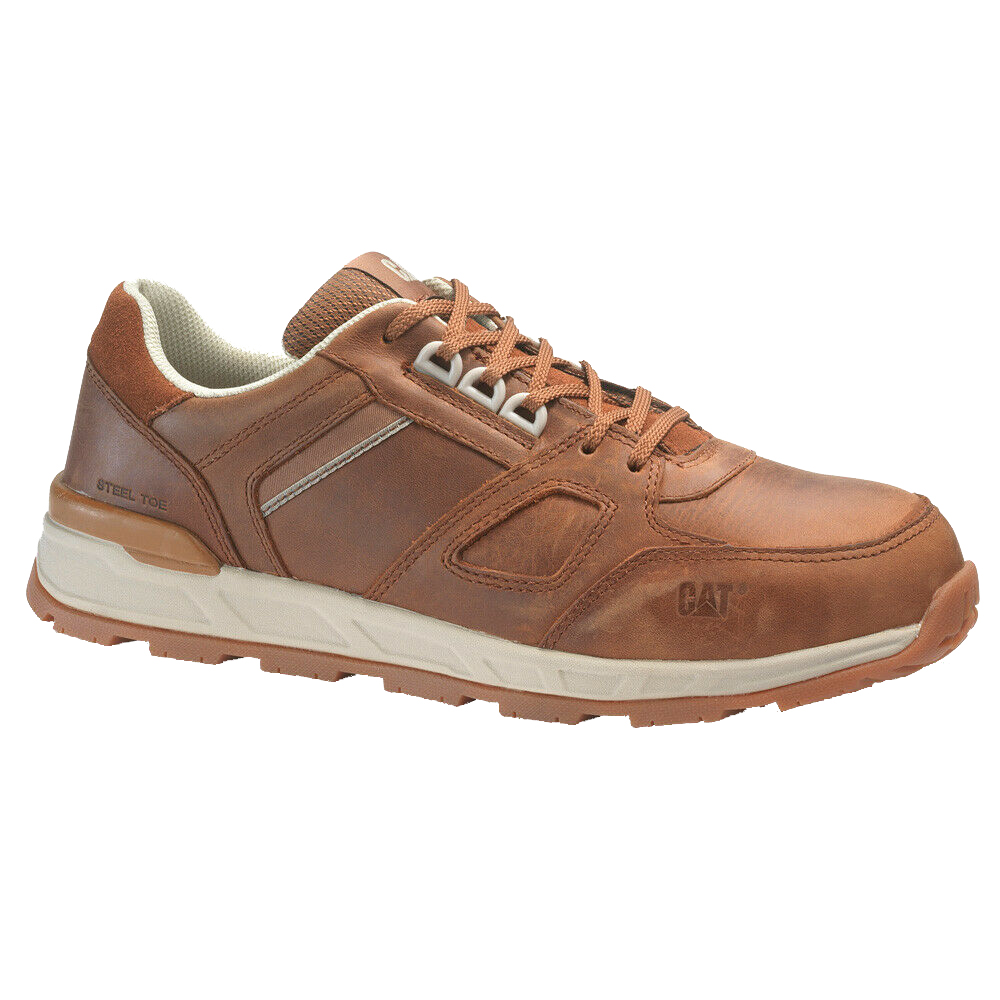 CAT Woodward Leather Safety Trainer